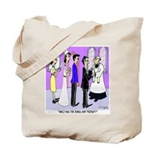 Who Has the Prenup? Tote Bag
