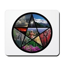 Penticle collage Mousepad