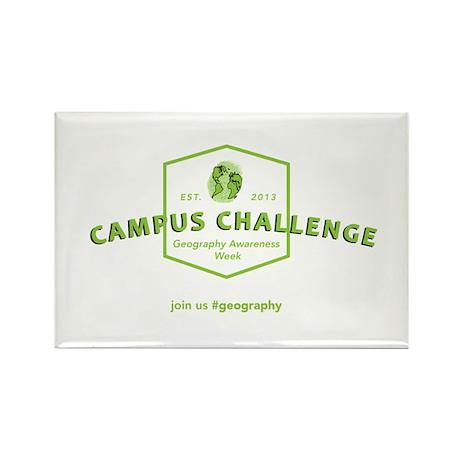 Campus Challenge Rectangle Magnet