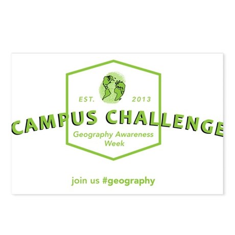 Campus Challenge Postcards (Package of 8)