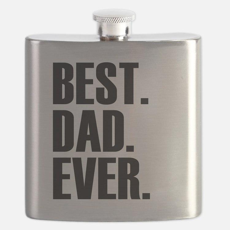 Best Dad Ever Flask