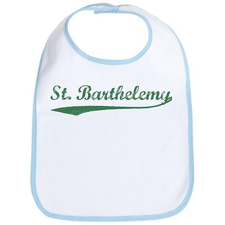 Vintage St Barthelemy (Green) Bib
