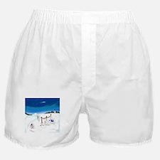 Christmas Bunny Stockings (twxtw) Boxer Shorts
