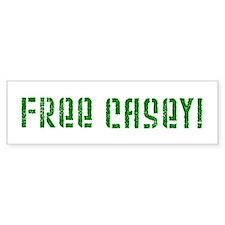 Free Casey! Bumper Bumper Sticker