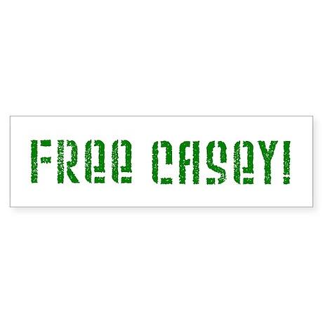 Free Casey! Bumper Sticker