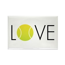 Tennis LOVE ALL Rectangle Magnet (10 pack)