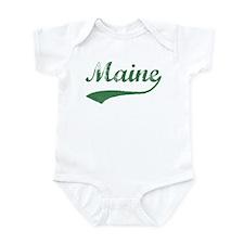 Vintage Maine (Green) Infant Bodysuit