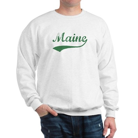 Vintage Maine (Green) Sweatshirt