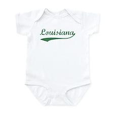 Vintage Louisiana (Green) Infant Bodysuit