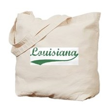 Vintage Louisiana (Green) Tote Bag