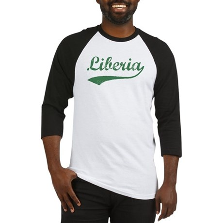 Vintage Liberia (Green) Baseball Jersey
