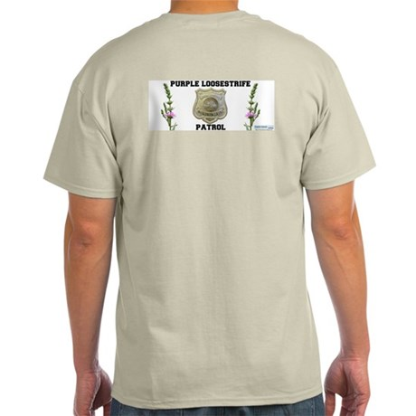 Purple Loosestrife Patrol T-Shirt - Grey