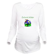 future hiker.bmp Long Sleeve Maternity T-Shirt