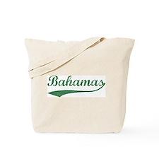 Vintage Bahamas (Green) Tote Bag