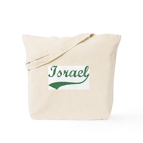 Vintage Israel (Green) Tote Bag