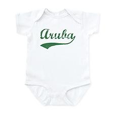 Vintage Aruba (Green) Infant Bodysuit