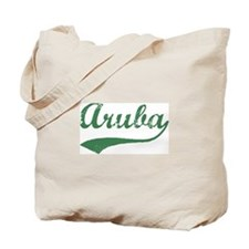 Vintage Aruba (Green) Tote Bag
