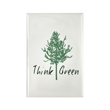 Think Green Tree Magnets