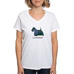 Terrier - Carmichael Women's V-Neck T-Shirt