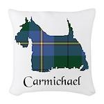 Terrier - Carmichael Woven Throw Pillow