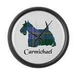 Terrier - Carmichael Large Wall Clock