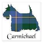 Terrier - Carmichael Square Car Magnet 3