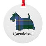 Terrier - Carmichael Round Ornament