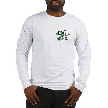 Jade Dragon Long Sleeve T-Shirt