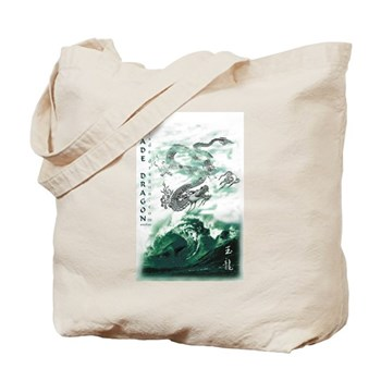 Jade Dragon Tote Bag