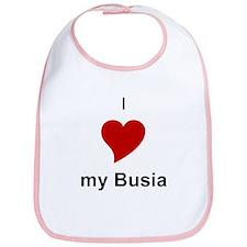 I Love My Busia Bib