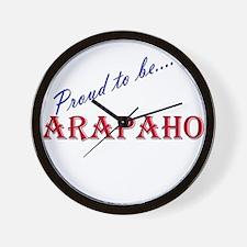 Arapaho Wall Clock