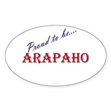 Arapaho Oval Decal