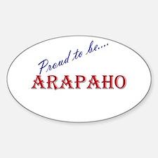 Arapaho Oval Decal