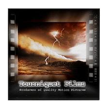 Tourniquet Films Tile Coaster