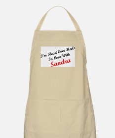 In Love with Sandra BBQ Apron