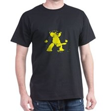 LEATHER BEAR MASTER_yellow - DARK T-Shirt