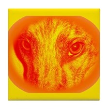 Orange Zoe Tile Coaster