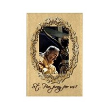 St. Pio Rectangle Magnet