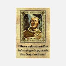 St. John of the Cross Rectangle Magnet