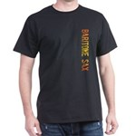 Baritone Sax Stamp Dark T-Shirt