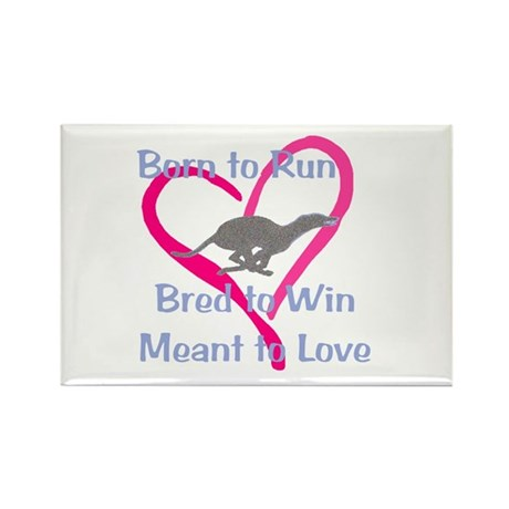Born to Love Rectangle Magnet