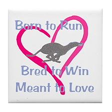 Born to Love Tile Coaster