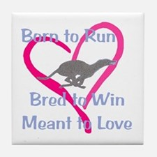 Born to Love Tile Coaster