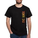 Tenor Sax Stamp Dark T-Shirt