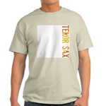 Tenor Sax Stamp Ash Grey T-Shirt