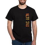 Alto Sax Stamp Dark T-Shirt