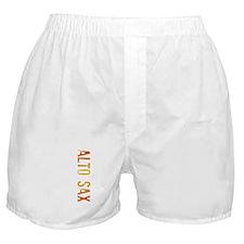 Alto Sax Stamp Boxer Shorts