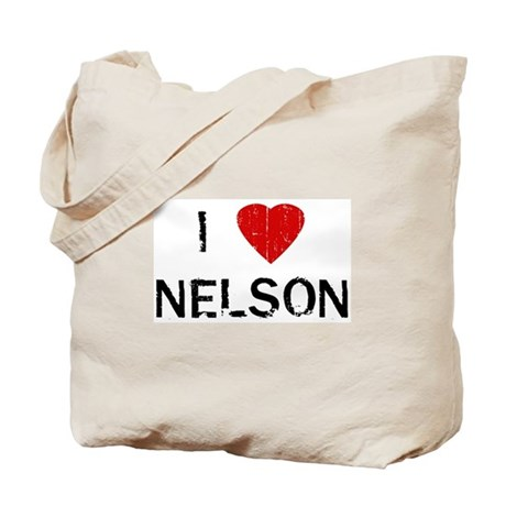 I Heart NELSON (Vintage) Tote Bag