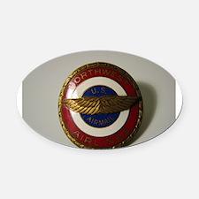 US Airmail NWA Oval Car Magnet