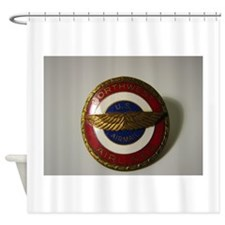 US Airmail NWA Shower Curtain